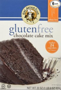 king arthur gluten free chocolate cake mix