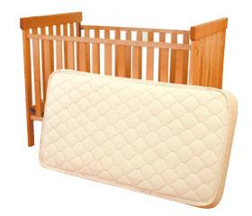 Deluxe Organic Crib Mattress