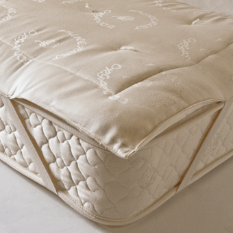 Organic Cotton Ecowool 1 5 Mattress Pad
