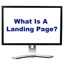 What is a landing page? how is it important to small business?