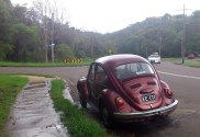 """Image shows a Volkswagen Beetle (cira 1960 to 1970 ish) which is representative of an exceptionally great ad campaign which positioned small cars as """"cool""""."""