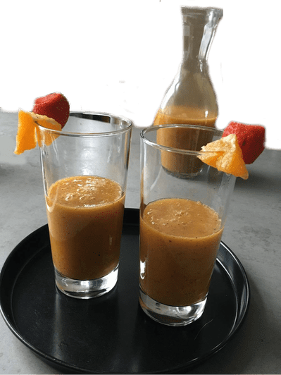 pear, smoothies, blog, organic, recipe, healthy food, healthy, healthy recipes, food blog, strawberry, blueberries, orange, organic happiness, organic food blog
