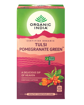 Organic India Tulsi Pomgranate Green