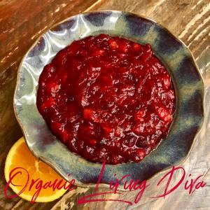 Simply delicious cranberry orange blossom sauce recipe!