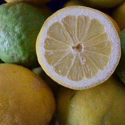 Limón meyer. 10 unidades.