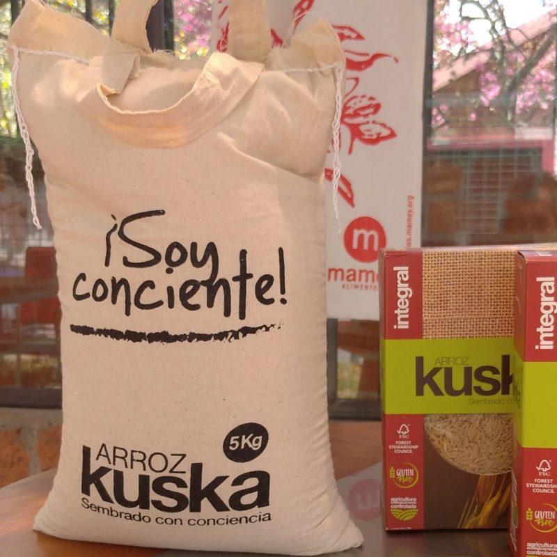 Arroz blanco Kuska. 1 kilo