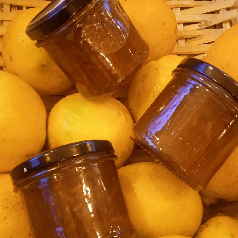 Jalea de limón. 145 gr.