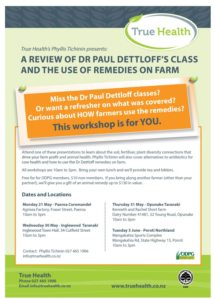 Schedule_THL_May2018_Mop up workshops Dr Dettloff