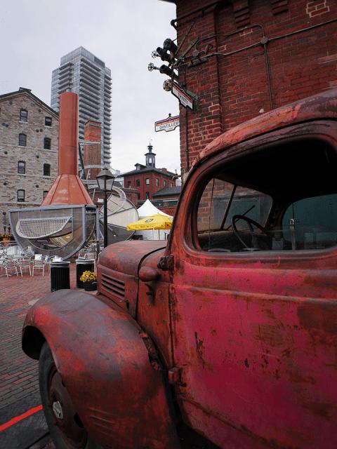 Toronto - Distillery District - Trinity Street