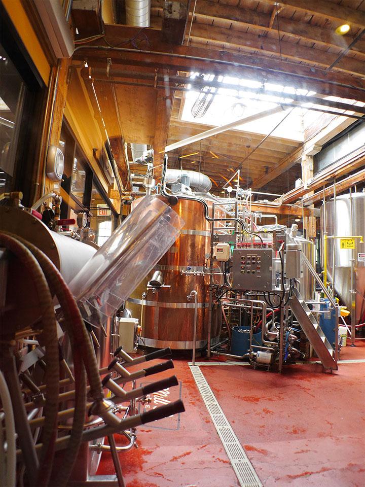 Toronto - Distillery District - Mills St Brewery