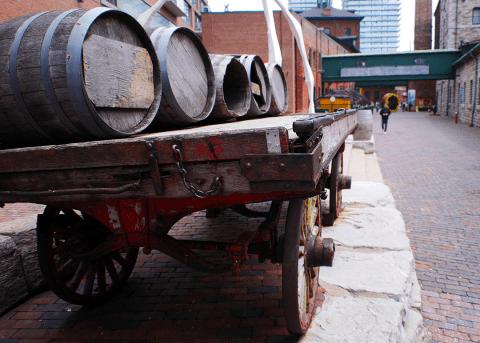 Toronto - Distillery District - Gristmill Lane