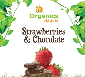 Organics Strawberries & Chocolate e-Liquid