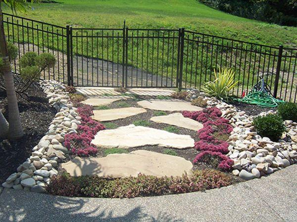 organic garden landscaping