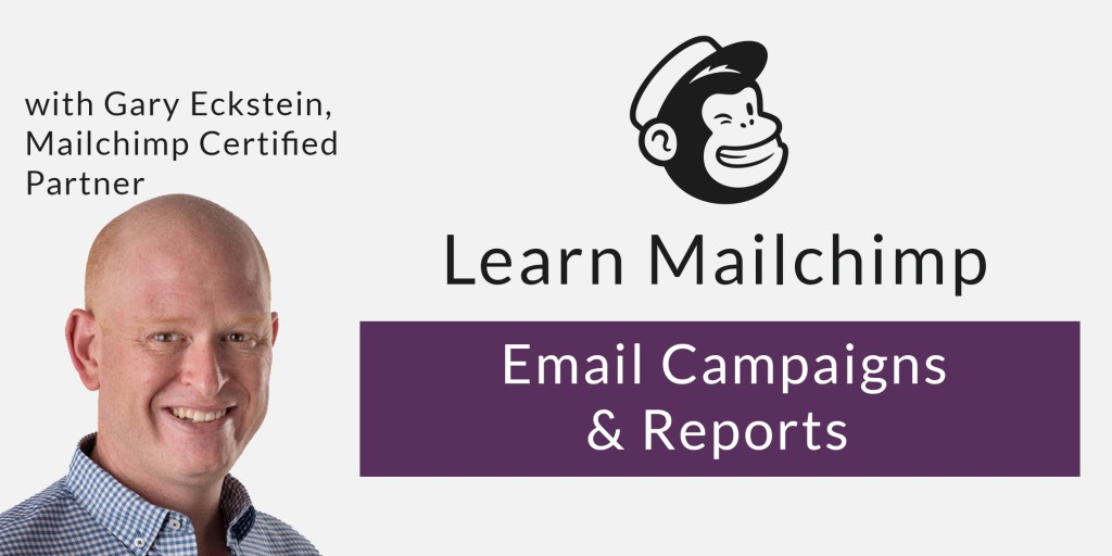 Mailchimp email campaigns and reports class