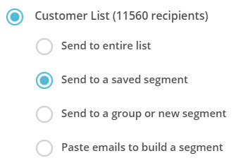 What to do if your Mailchimp list segments don't display.