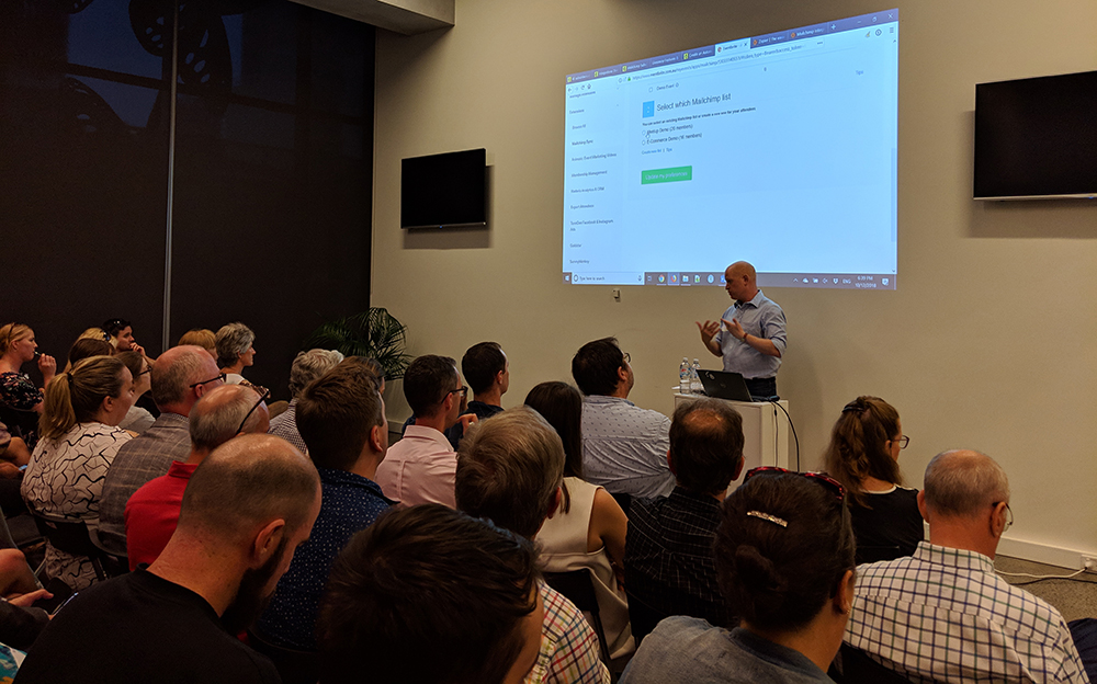 Mailchimp Meetup, Brisbane, December 2018