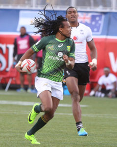 Cecil Afrika of Rugby Sevens
