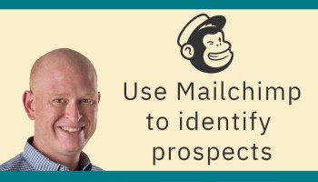 Use Mailchimp for the sales funnel