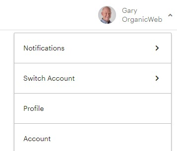 Access Mailchimp account settings