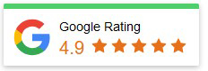 Google Reviews five star rating