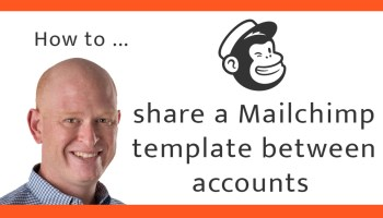 Instructions to share a Mailchimp email template