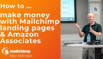Using Mailchimp to promote Amazon Associates links