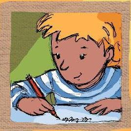 enfant-ecrivant
