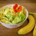 Bananen Curry Salatsauce