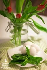 Spinat für Grün