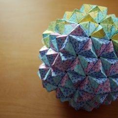 Soccer Ball Modular Origami Diagram Basic 4 Way Trailer Wiring 270 Unit Sonobe  Peter Organisciak