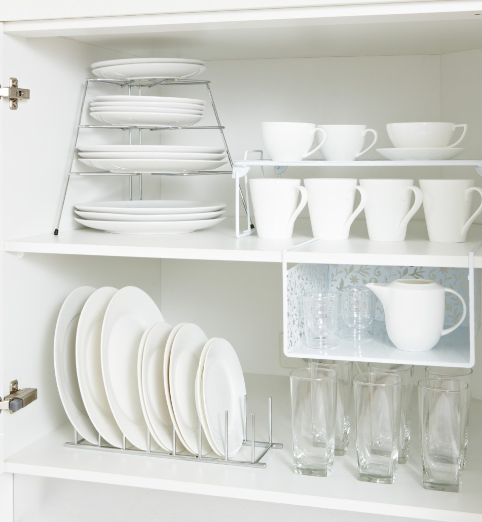 Decluttering the Kitchen Areas