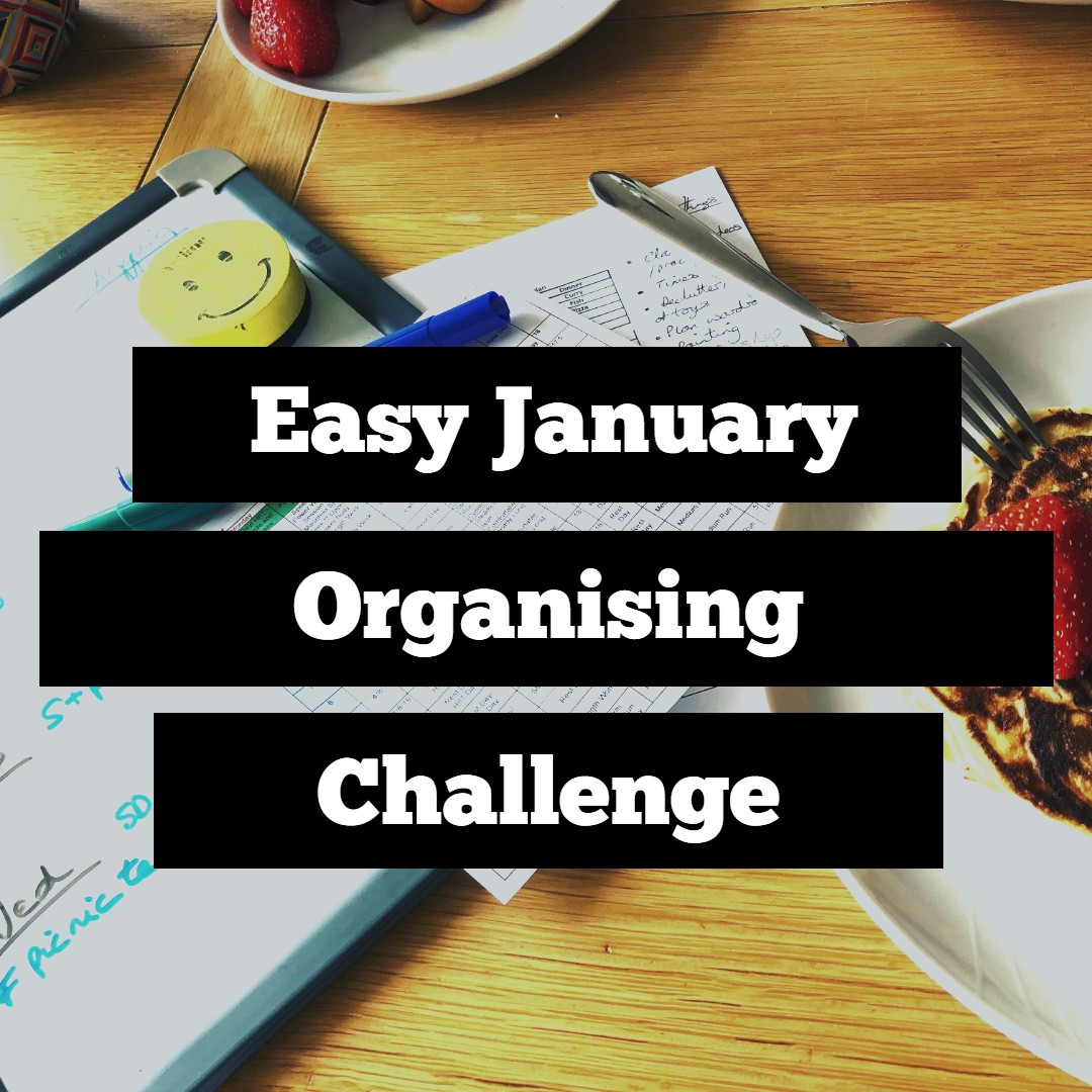 Easy January Organising Challenge