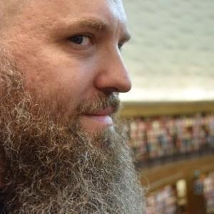 En bild på författaren