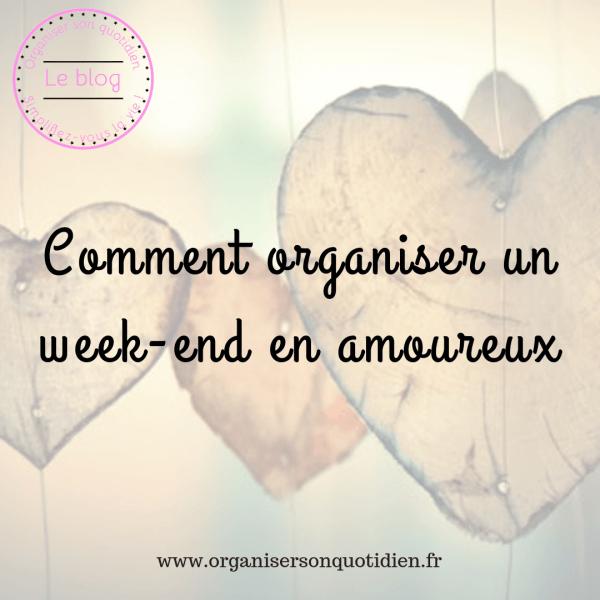 Organiser un week-end en amoureux