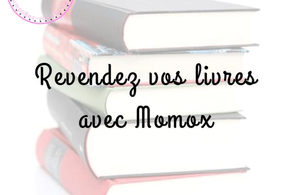 Revendez vos livres avec Momox
