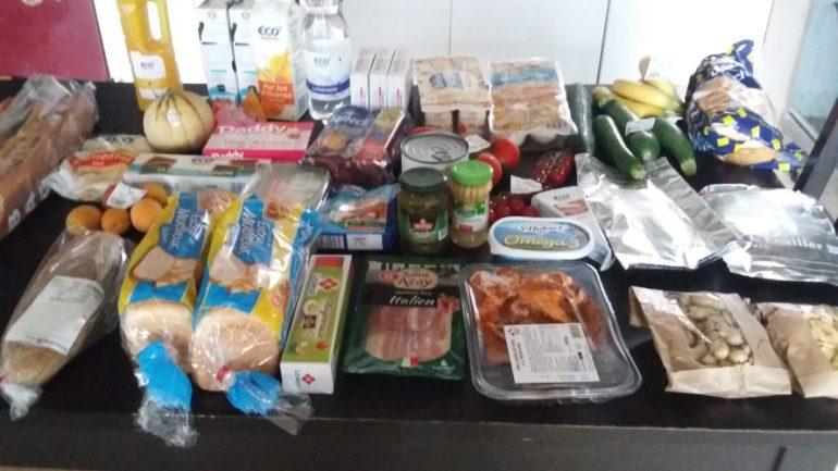 Retour de courses - 7 repas à petit budget