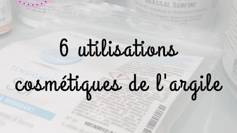 6 utilisations cosmétiques de l'argile