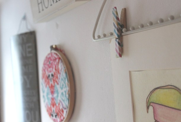 Updating your house on a budget - Wall Collage