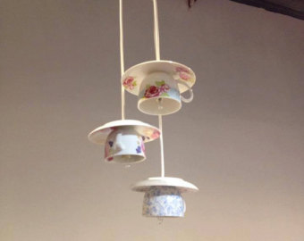 Teacup and saucers lights