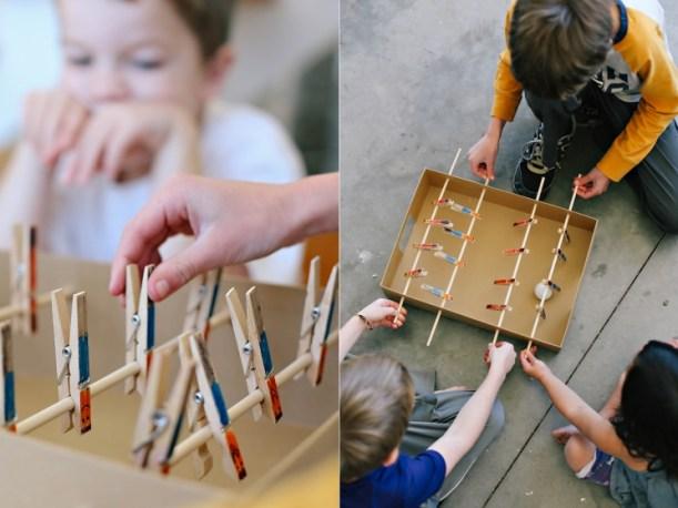 Making your own foosball table - OrganisingChaosBlog