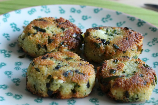 Delicious Couscous and spinach fritters - OrganisingChaosBlog