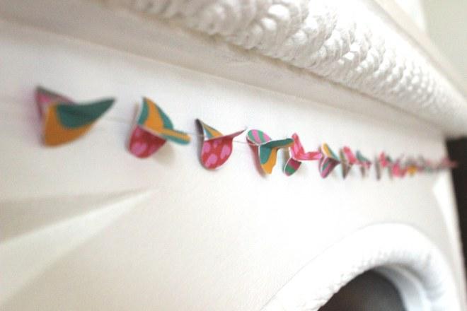 OrganisingChaosBlog - Paper garland