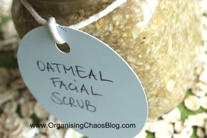 OCB - Home-made Oatmeal Facial Scrub