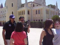 Desafío IPad en la explanada del Castillo de Viñuelas