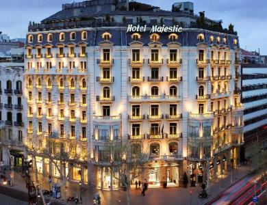 Hotel Majestic en Barcelona
