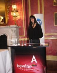 Casino del vino Bewine en el Hotel Palace de Madrid