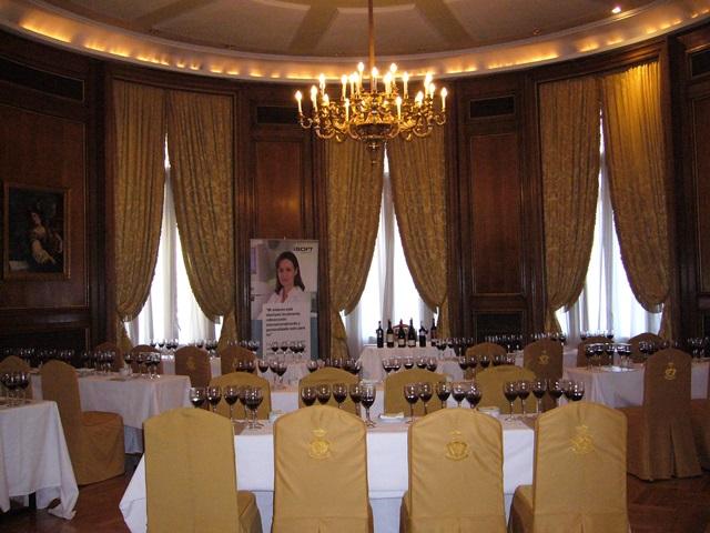 Salones del Hotel Palace de Madrid