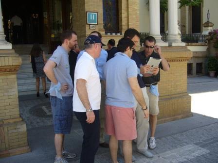 Gymkhana con tablets por Sevilla desde el Hotel Alfonso XIII