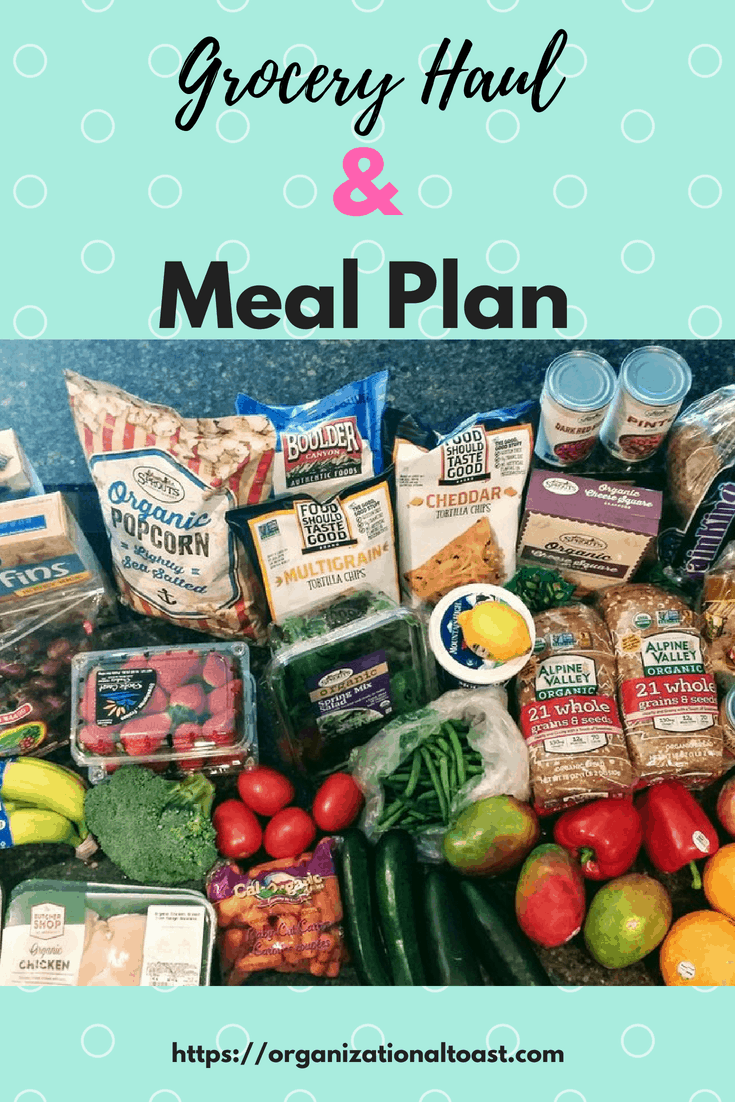 grocery list | meal plan | #cleaneating #mealplan #groceryhaul