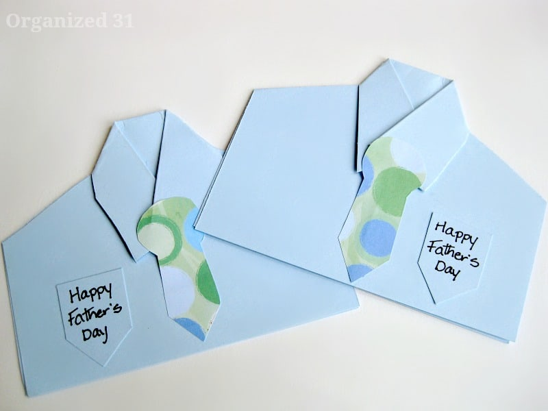 Quick Father's Day Card - Organized 31